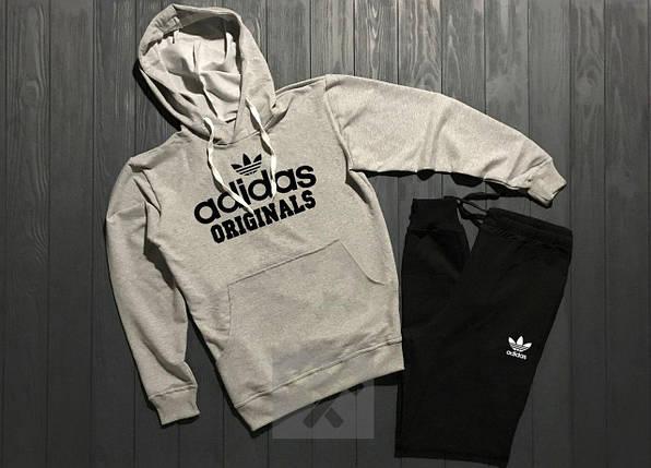 Весенний костюм спортивный Adidas Originals топ реплика, фото 2