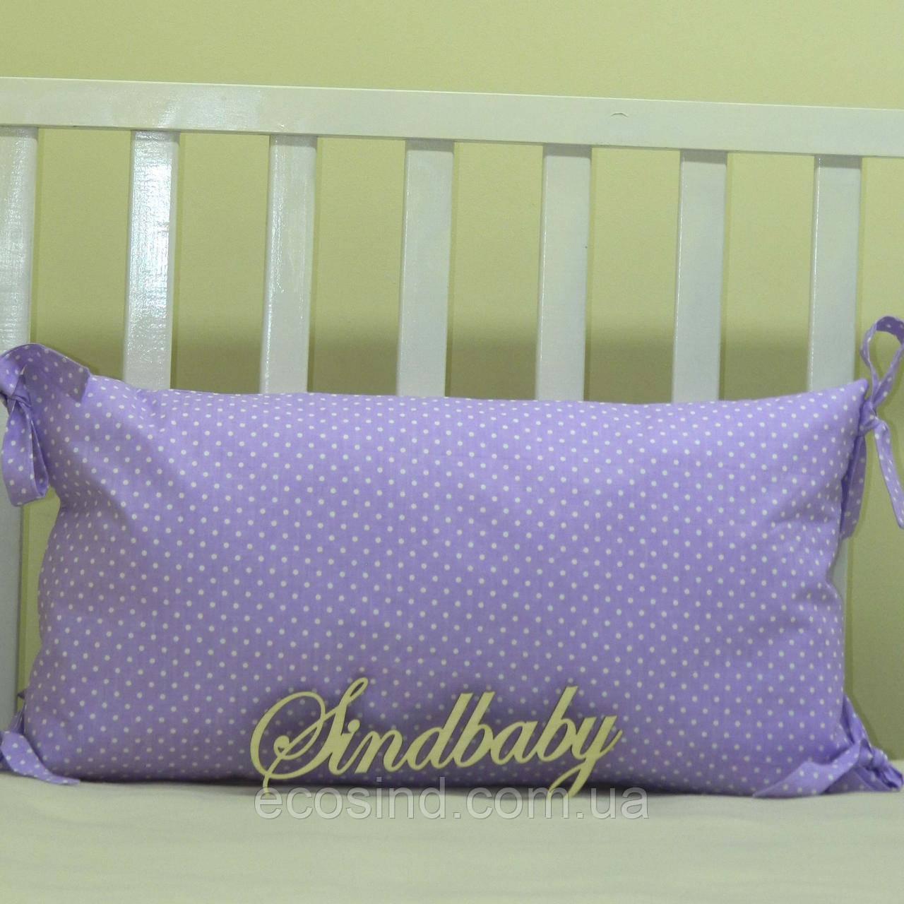 Бортики подушки в кроватку, Подушка 30х60 -37