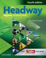 New  Headway 4th Ed Beginner: Student's Book and iTutor DVD-ROM (учебник)