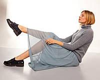 Прозрачная длинная юбка