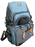 Рюкзак для рыбалки с пластиковыми контейнерами Ranger Bag 5 RA 8804, фото 1