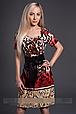 Платье летнее с тигровым принтом 46 48, фото 3