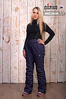 Женские лыжные штаны (брюки) Avecs 8072 Blue качественные и теплые 10000 мм недорого   Avecs штаны размер