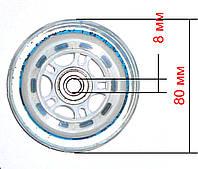 Замена колес 80 мм, фото 1