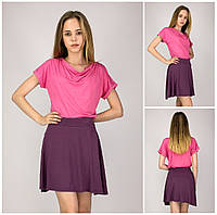 Новая Женская Юбка Prettylittlething Фиолетового Цвета |S/40-42|р.