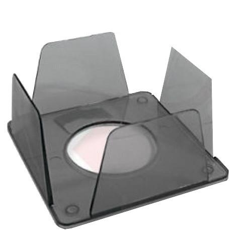 Куб для бумаги КиП бокс 90х90х45мм дымчатый BOKSKIPдым.