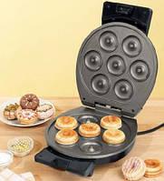 Вафельница для приготовления пончиков, бубликов Donut Maker Bifinett 1122