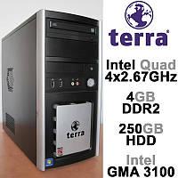 Системный блок Terra - Intel 4х2.67GHz /4GB DDR2 /250GB HDD