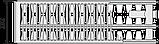 Сталевий (панельний) радіатор PURMO Ventil Compact т33 500x1000 нижнє підключення, фото 3