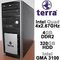 Системный блок Terra - Intel 4х2.67GHz /4GB DDR2 /320GB HDD