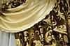 Комплект шторы и ламбрекен из плотной ткани, фото 5