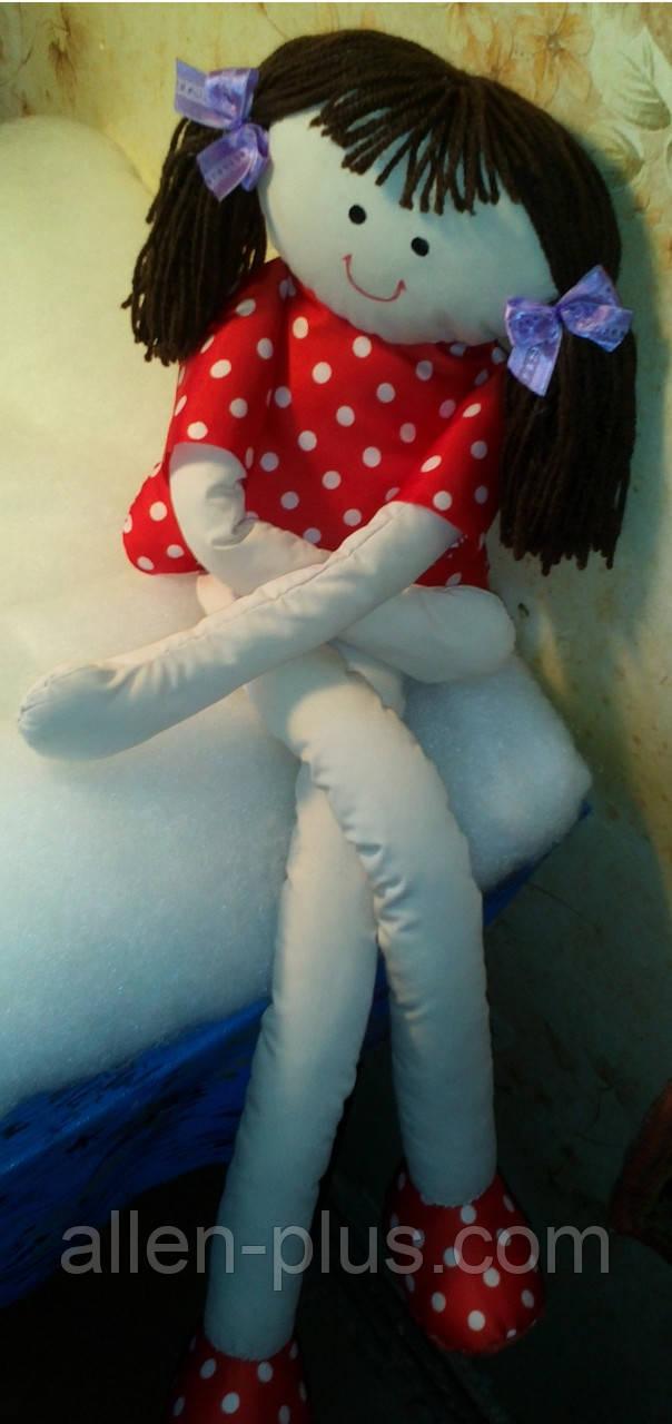 Мягкая игрушка ручной работы Длинноногая Кукла