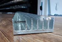 Профиль радиаторный алюминиевый 72х26 / без покрытия.