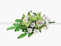 Букет из мастики - Орхидеи САЛАТОВЫЕ №13