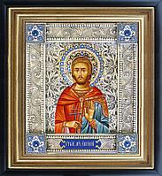 Святой мученик Евгений скань икона