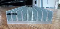 Радиаторный профиль алюминиевый 92х26 / без покрытия.