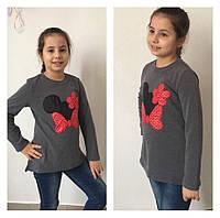 Осенняя кофта для девочки Микки Маус
