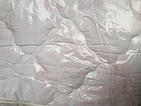 Зимнее теплое одеяло из овечьей шерсти 200*220. Микрофибра.Розовая роза.