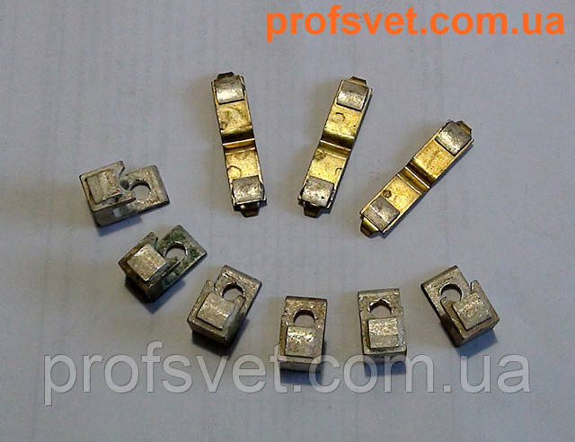 фото комплект серебряных контактов пма-4100 profsvet.com.ua