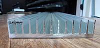 Алюминиевый профиль радиаторный 122х26 / без покрытия.