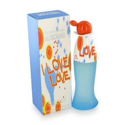 Женская туалетная вода Moschino I Love Love, фото 2