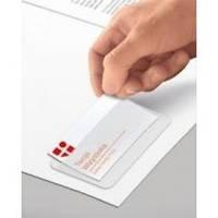 Карман для визитки, PVC, самоклеящийся, 100х60мм