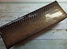 Подлокотник для рук лаковый с золотом, цвет черный