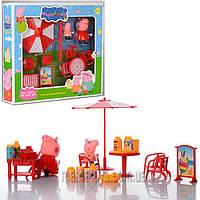 Свинка Пеппа Пикник TM8866A-AB-D набор фигурки, мебель,