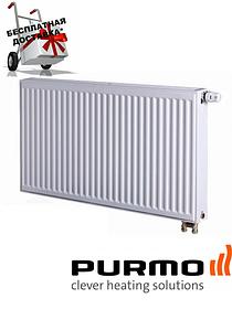 Стальной (панельный) радиатор PURMO Ventil Compact т22 300x1100 нижнее подключение
