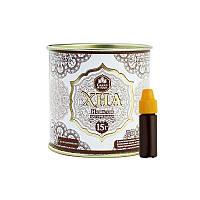 """Хна для брів і біотату """"Grand Henna"""", світло - коричнева, 15 гр"""
