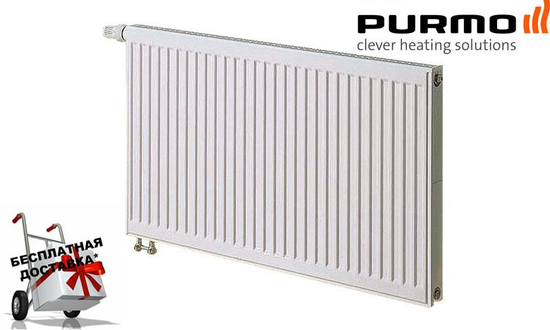 Стальной радиатор PURMO Ventil Compact т11 500x1000 нижнее подключение