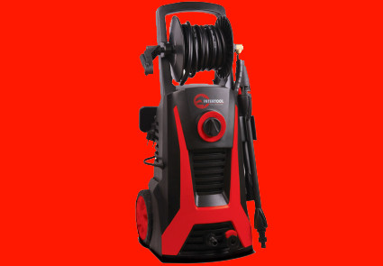 Мийка високого тиску 2.2 кВт, 5,5 л/хв.,110-165 бар Intertool DT-1507