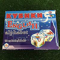 Кубики English Alphabet