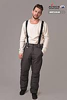 Мужские лыжные штаны (брюки) Avecs 8081 Gray качественные и теплые 10000 мм недорого | Avecs штаны размер