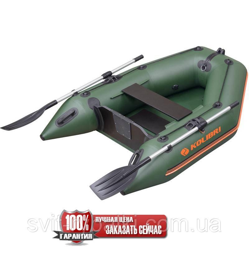 Надувная лодка Kolibri КМ-200 моторная, одноместная, без настила