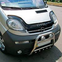 Дефлектор капорта , мухобойка Renault Trafic, Opel Vivaro, Nissan Primastar