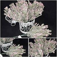 Пышные букетики припудренного мелкоцветика Пинк, выс. 35 см., 60/50 (цена за 1 шт. + 10 гр.)