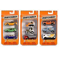Детский подарочный набор автомобилей C3713 Matchbox