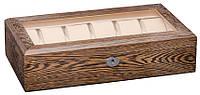 Шкатулка для часов деревянная на 12 отделений Rothenschild RS-12W-JC