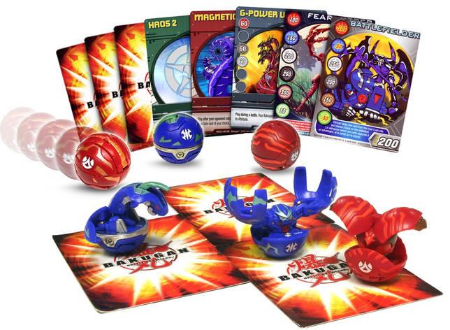 Bakugan-бой-пак карт-game1, фото 2