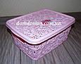 "Корзина ажурная ""Lace mini hobby box"" 4  л Tuppex, Турция 8212 , фото 3"