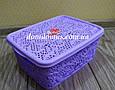 "Корзина ажурная ""Lace mini hobby box"" 4  л Tuppex, Турция 8212 , фото 4"