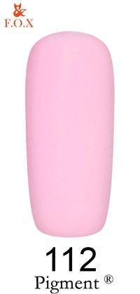 Гель лак F.O.X № 112, 6 мл (розовый)