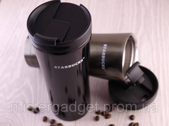 Металл кружка Старбакс 450мл Термочашка Starbucks, фото 2