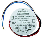 Источник питания ELP3X3CS драйвер 700мА  9 Вт IP65 2498
