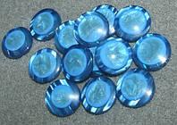Пуговицы круглые. пластик. размер 22 мм.