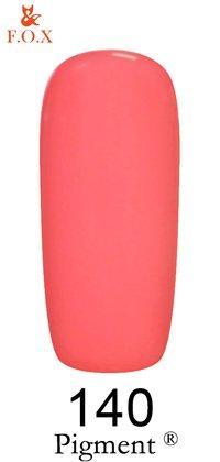 Гель лак F.O.X № 140, 6 мл (розовое танго)