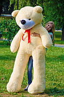 Огромный плюшевый мишка Нестор 220 см.Мягкая игрушка.игрушка медведь.мягкие игрушки украина Персиковый