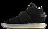 Мужские кроссовки AD Tubular Invader Strap Shoes Black Ice White. ТОП Реплика ААА класса., фото 5