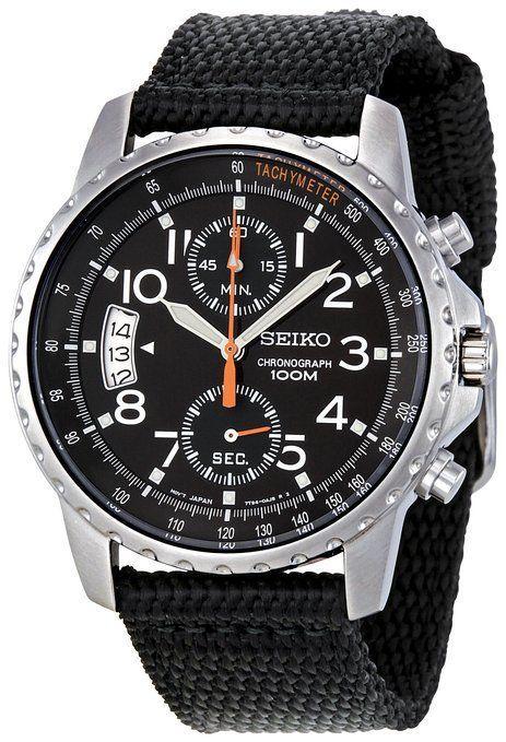 Часы Seiko Military SNN079P2 хронограф Quartz 7T94